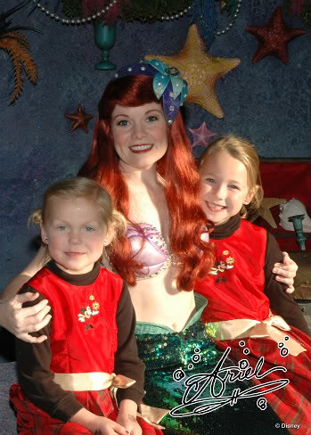 Disney world meet greet characters ariel little mermaid flickr disney world meet greet characters ariel little mermaid by love disney characters m4hsunfo