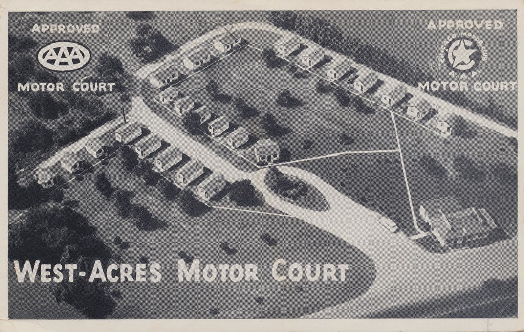 West-Acres Motor Court - Fort Wayne, Indiana