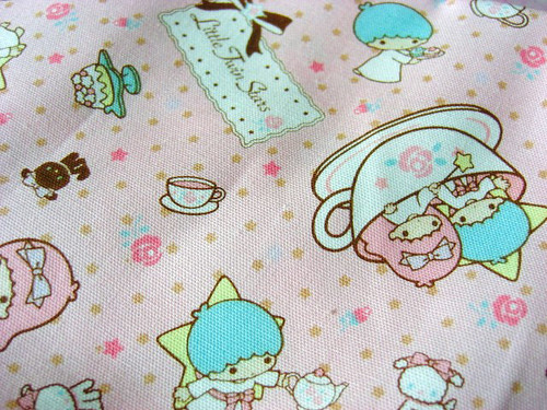 Kiki and Lala Japanese cotton twill | by Stitchin Sista
