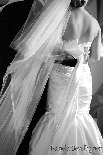 Back of Wedding Dress | by Pamela Bevelhymer