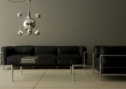 projekt bauhaus m bel le corbusier lc3 sofa. Black Bedroom Furniture Sets. Home Design Ideas