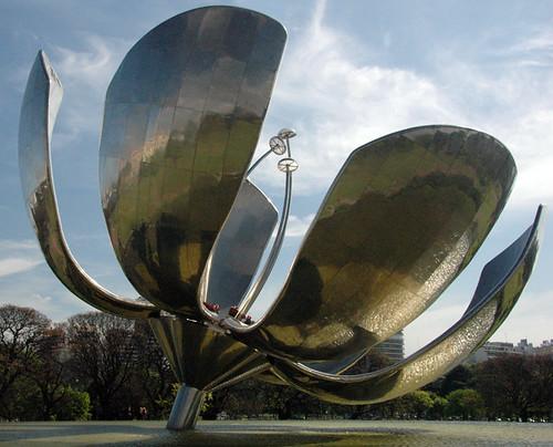 steel sunflower, Buenos Aires