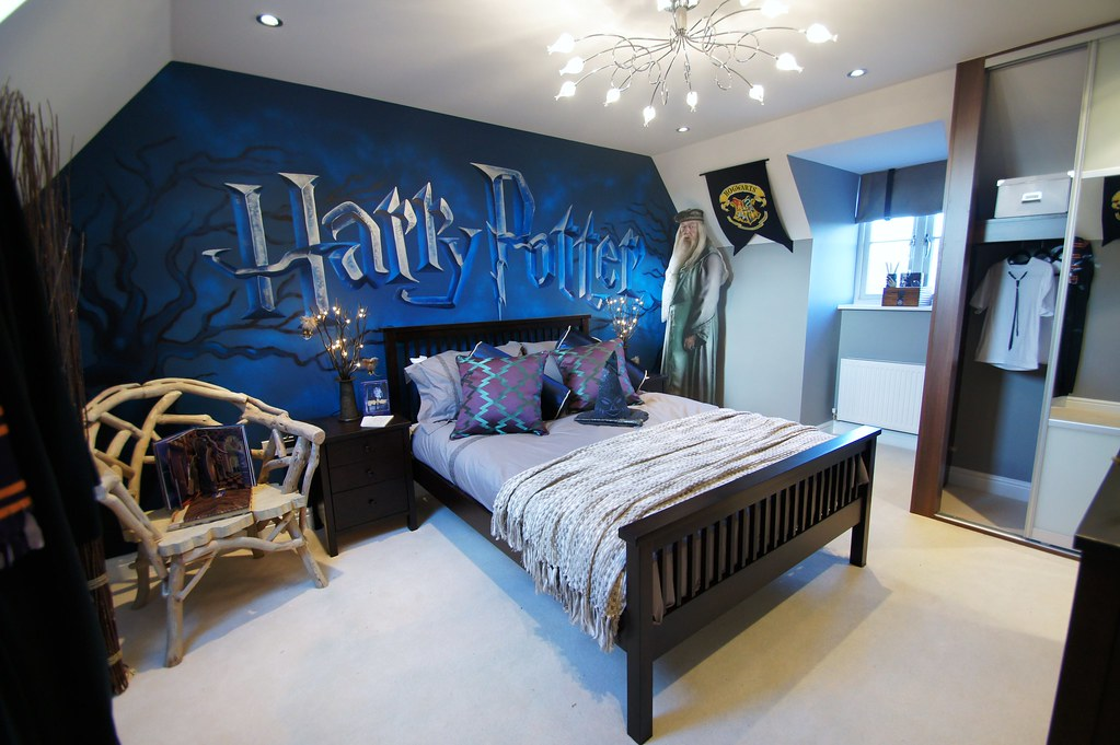 Beautiful ... Harry Potter Childrens Mural Room | By Sweetart Murals Pictures Gallery