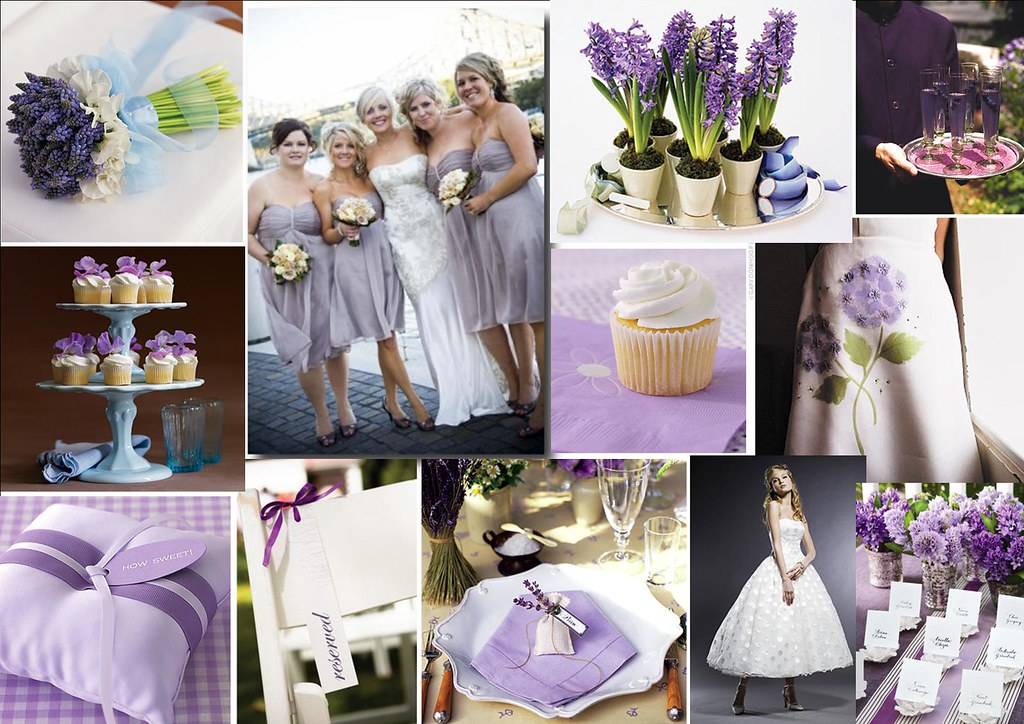 Lovely Lavender Wedding Theme For More Stylish Creative Flickr