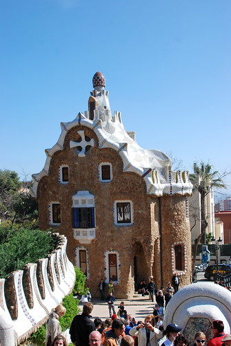 how to get to park guell by metro