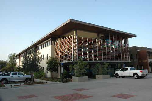 A parking garage is also available beneath Athearn Field | by Pomona College