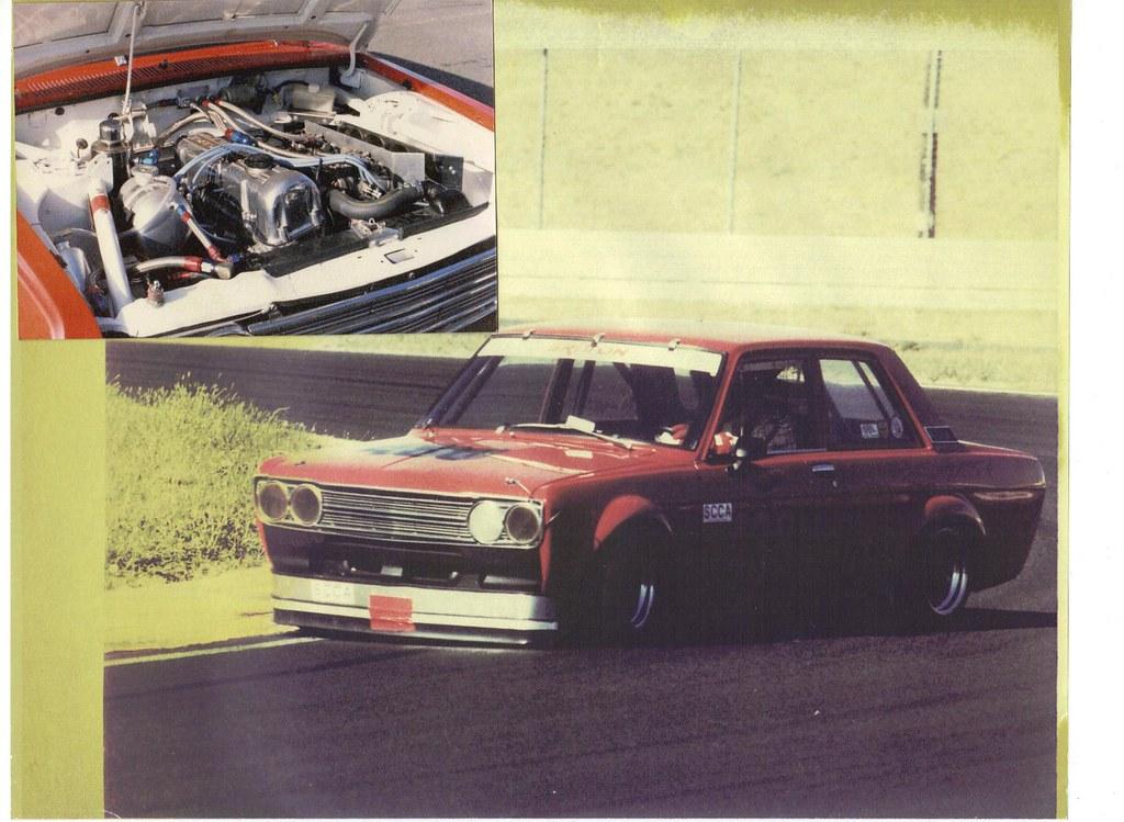 1972 Datsun 510 SCCA Race Car Project For Sale Front   Flickr