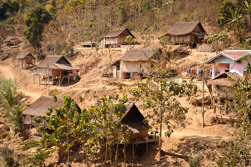 Lao Mountain Homes | by goingslowly