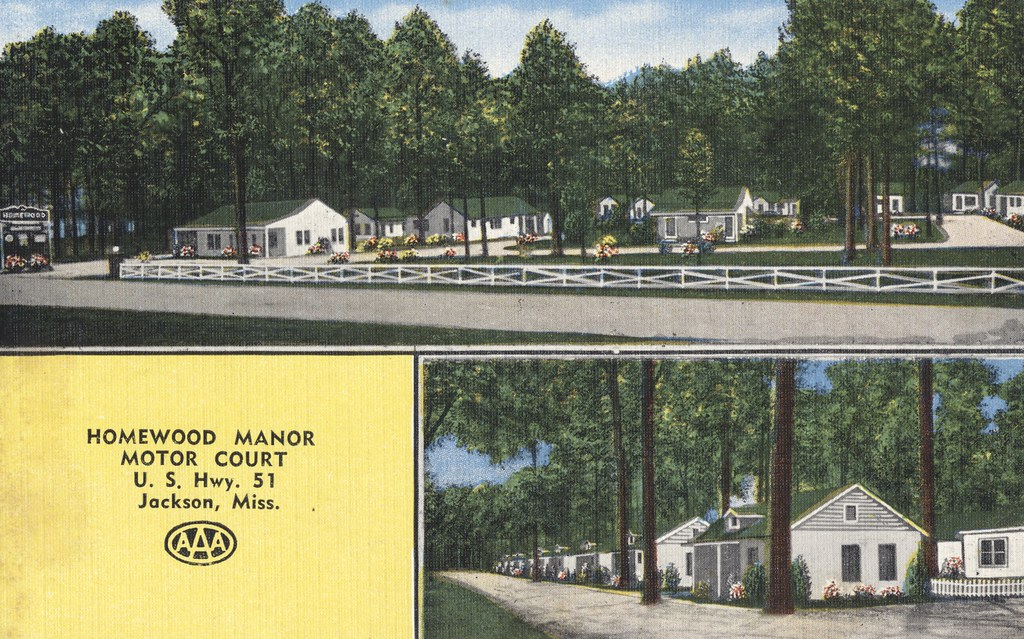 Homewood Manor Motel Court - Jackson, Mississippi