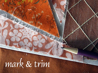 mark and trim | by StitchedInColor
