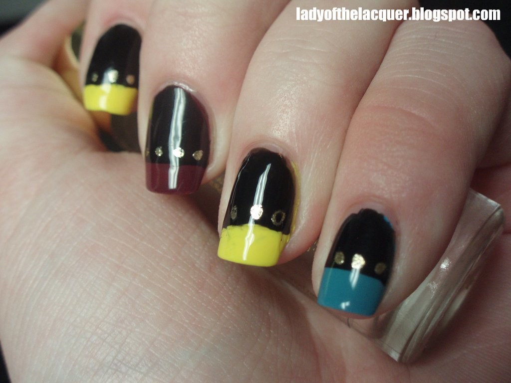 Star Trek Nail Art Orly Minds Eye For The Red Tips China Flickr