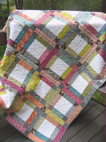 Grandma Mary S Five Patch Pattern With Hope Valley Fabric