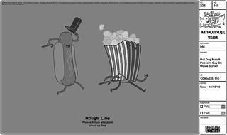 Hot Dog Man & Popcorn Guy on Movie Screen | by Fred Seibert