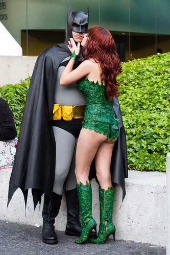 Wondercon 2011: batman and poison ivy | by bhautik_joshi