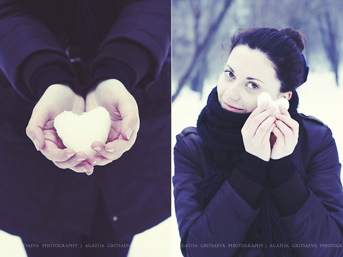 I heart you | by Agata Gri