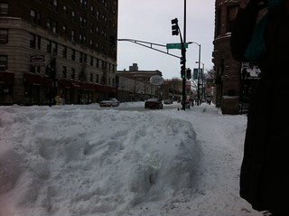 Snow on Diversey | by blipsman