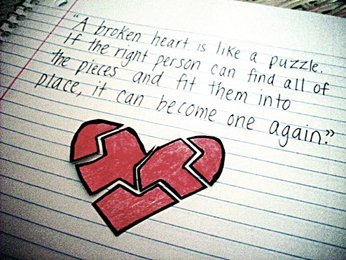 Heart Quote A Broken Heart Can Be Mended Jessica Flanigan Flickr