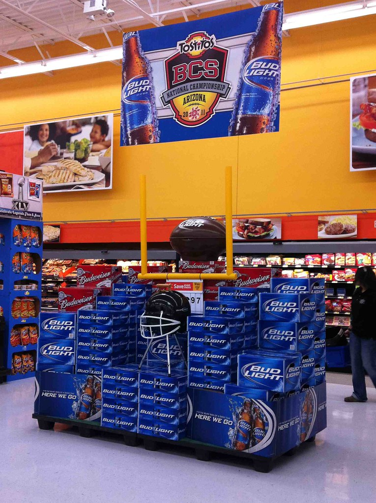 ... Bud Light, Walmart, Lewisville, TX | By Retailpics Amazing Pictures