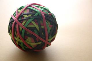 Rubber Band Ball | by deliriant_o