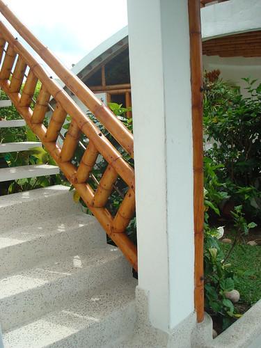 escaleras de bambu