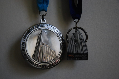 Empire State Building Run-Up Medal and Climb To The Top Key Chain | by slgckgc