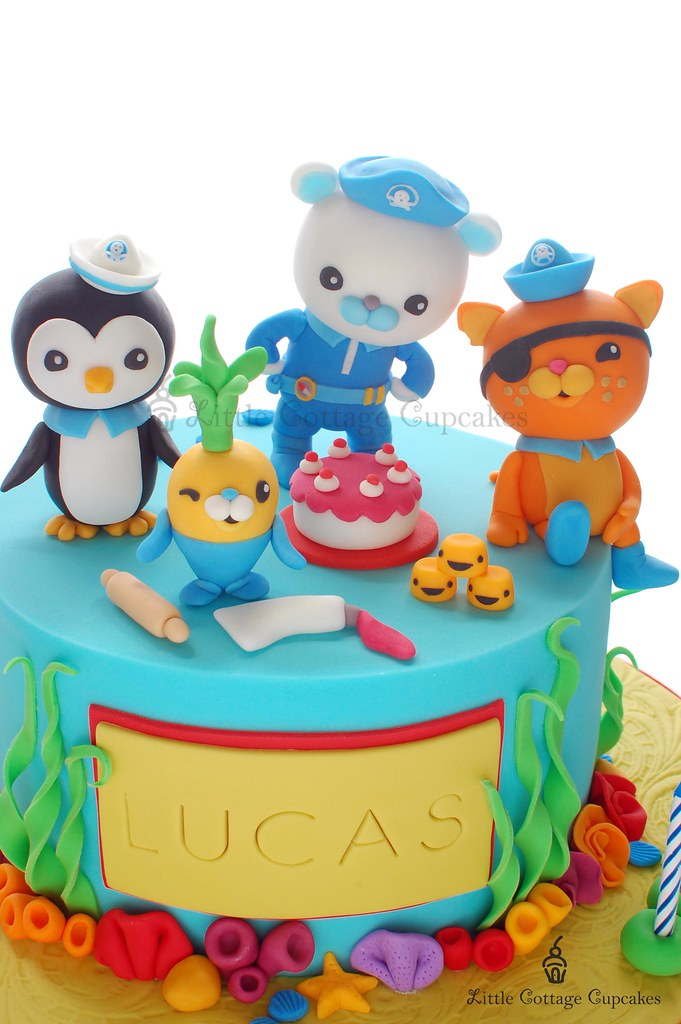 Octonauts Close Up Shot I made this for a boy turning 4 Flickr
