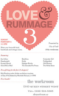 Love & Rummage Trunk Show | by the workroom