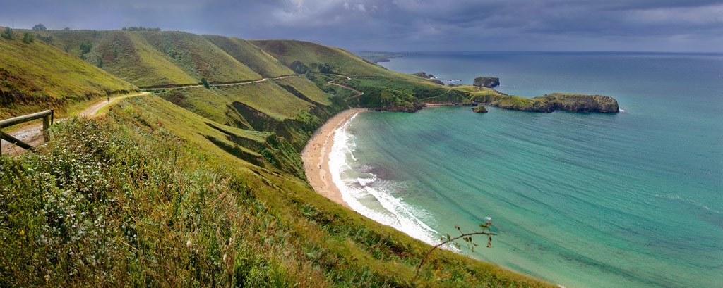 Torimbia Beach (Asturias)