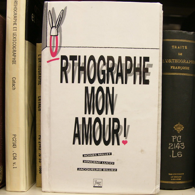 orthographe mon amour
