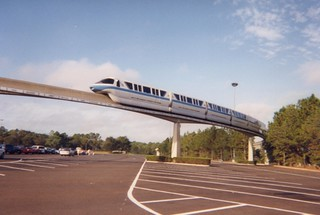Monorail Blue in Epcot's parking lot | by bigbrian-nc