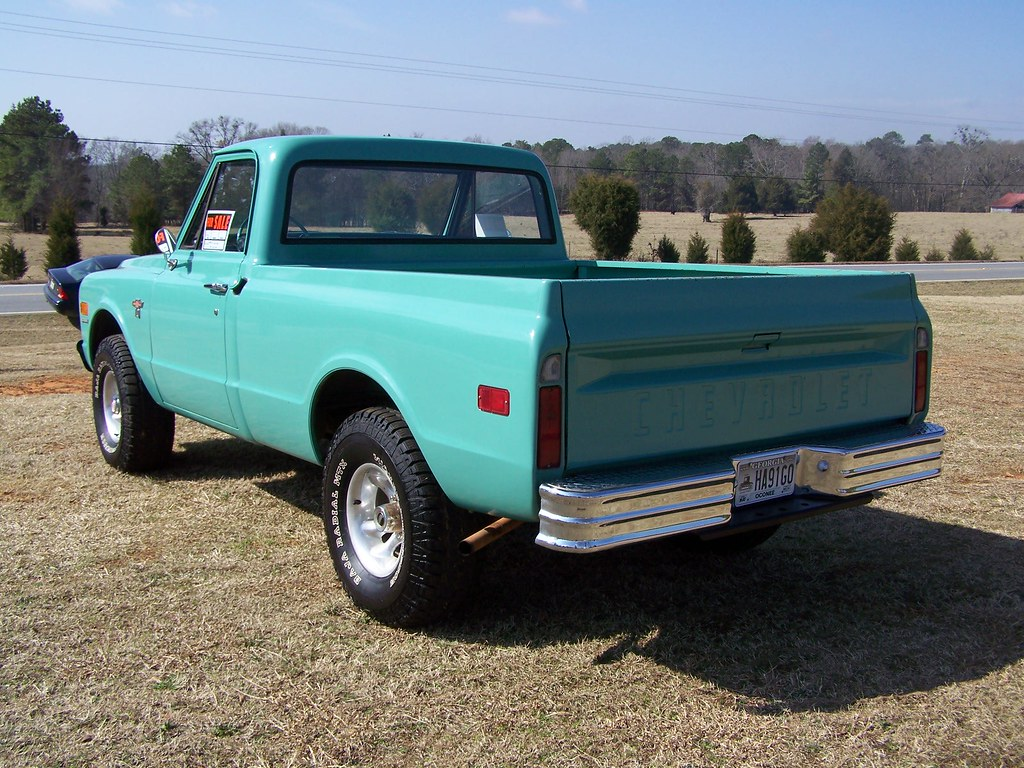1968 Chevy 4x4 Seen On Hwy 15 Outside Watkinsville Ga Pete Pickup Truck For Sale By Classicfordz