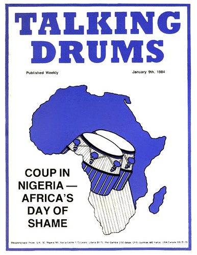 talking drums 1984-01-09 coup in Nigeria Africa's day of shame