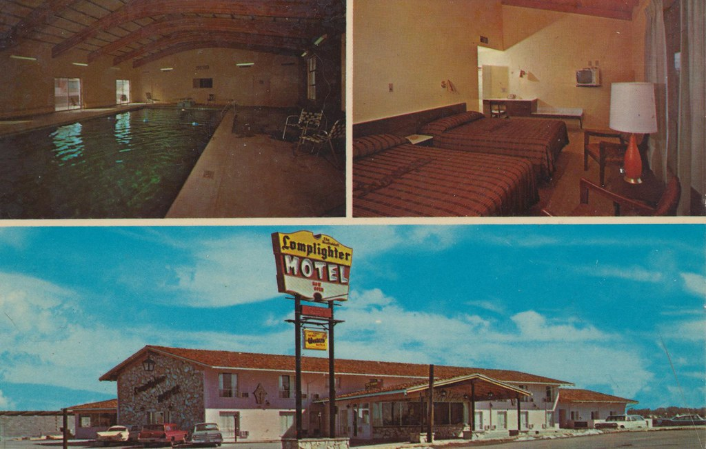 Scottsbluff Lamplighter Motel - Scottsbluff, Nebraska
