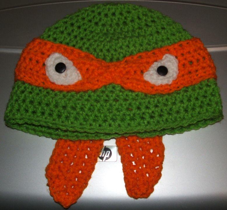 Michaelangelo Teenage Mutant Ninja Turtle Hat Available To Flickr