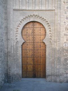 Puerta Nueva de Bisagra - Toledo  The gate is of Moorish ...