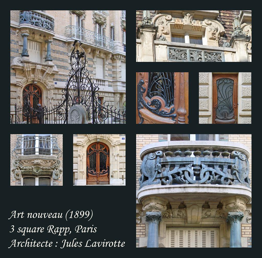 Paris jules lavirotte architecte art nouveau flickr for Architecte 3d wikipedia