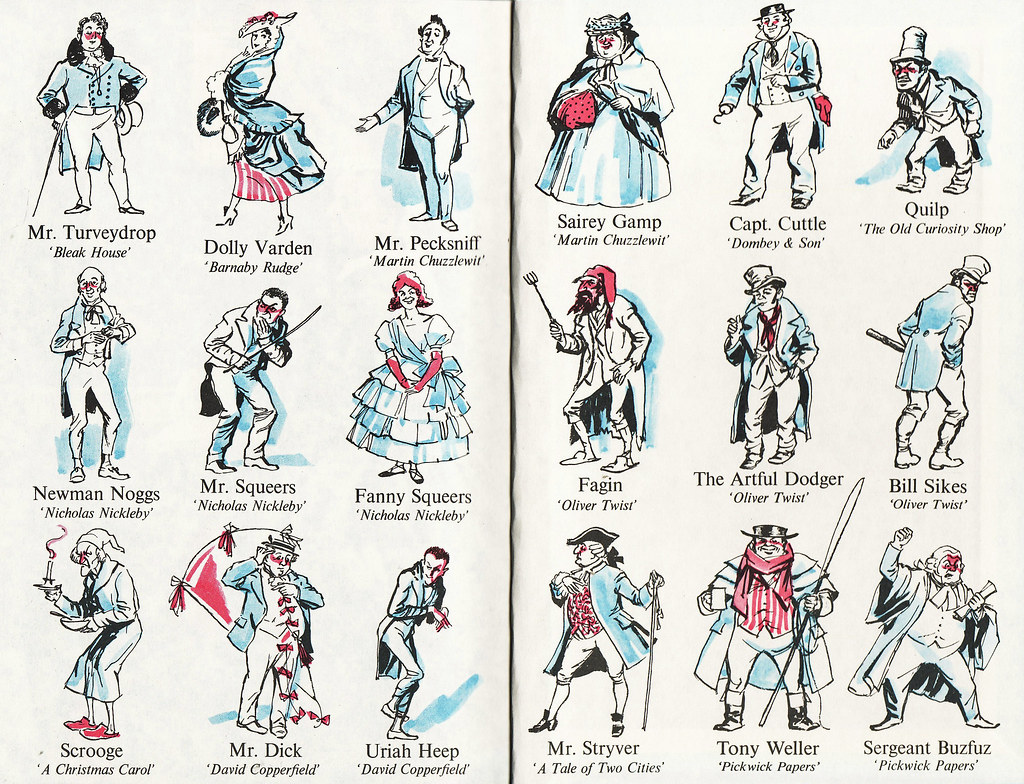 dickens characters endpapers from the ladybird edition of flickr dickens characters by calsidyrose dickens characters by calsidyrose
