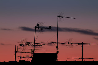 post sunset living antennas | by besiaman