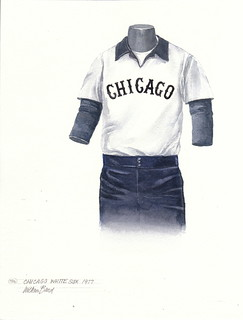 Chicago White Sox 1977 uniform artwork | by Scott Sillcox