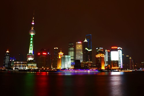 View of Pudong- Passage at the Bund, Shanghai | by Vielsamkeit | Photography