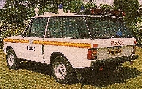MET POLICE TRAFFIC RANGE ROVER 1981 | by NW54 LONDON