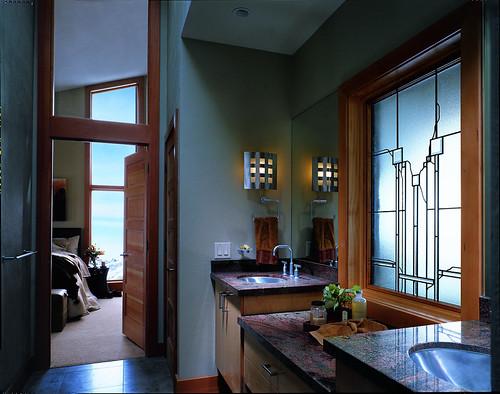 400 casement windows affinity artisan series art glass for Andersen windows art glass