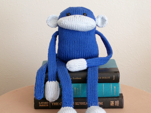 monkey blue 1 | by haramisdesigns