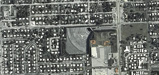 27th Avenue Drive-In aerial photo 1969 | by ozoner68