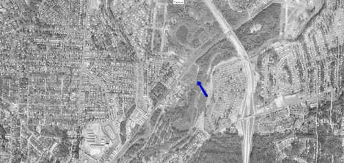 Morris Road Drive-In aerial photo 1968 | by OzonerGPS