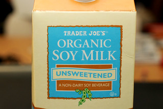 unsweetened soy milk | by sassyradish