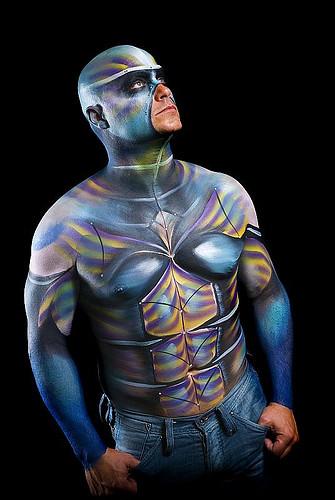 2528260537 693f54fd54 full body painting men flickr for Full body paint job