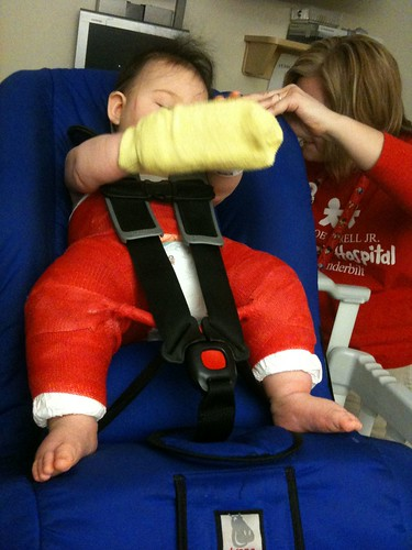 Car seat fitting | by friedapplepie
