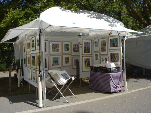 ... My Art Fair Booth | by GothamTomato & My Art Fair Booth | My art fair booth. ©Deborah Gilbert 201u2026 | Flickr