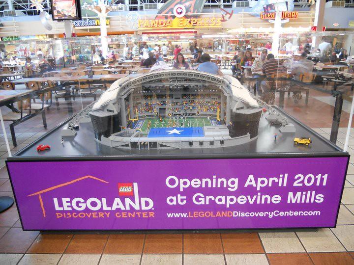 LEGO Dallas CowBoys Stadium - LEGOLAND Discovery Center Da… | Flickr